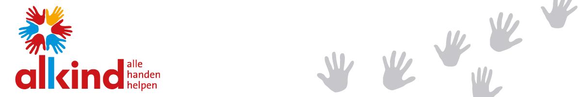 Alkind logo handen